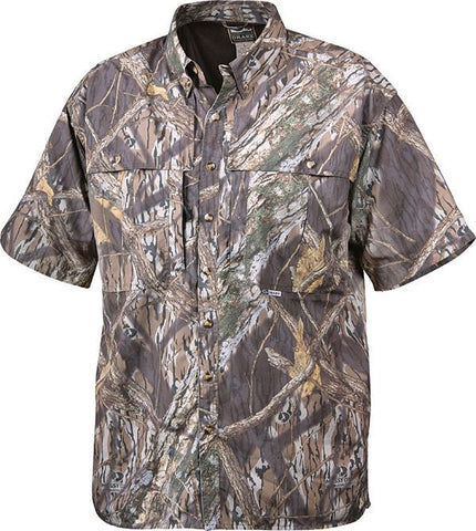 EST S/S Camo Vented Wingshooter's Shirt