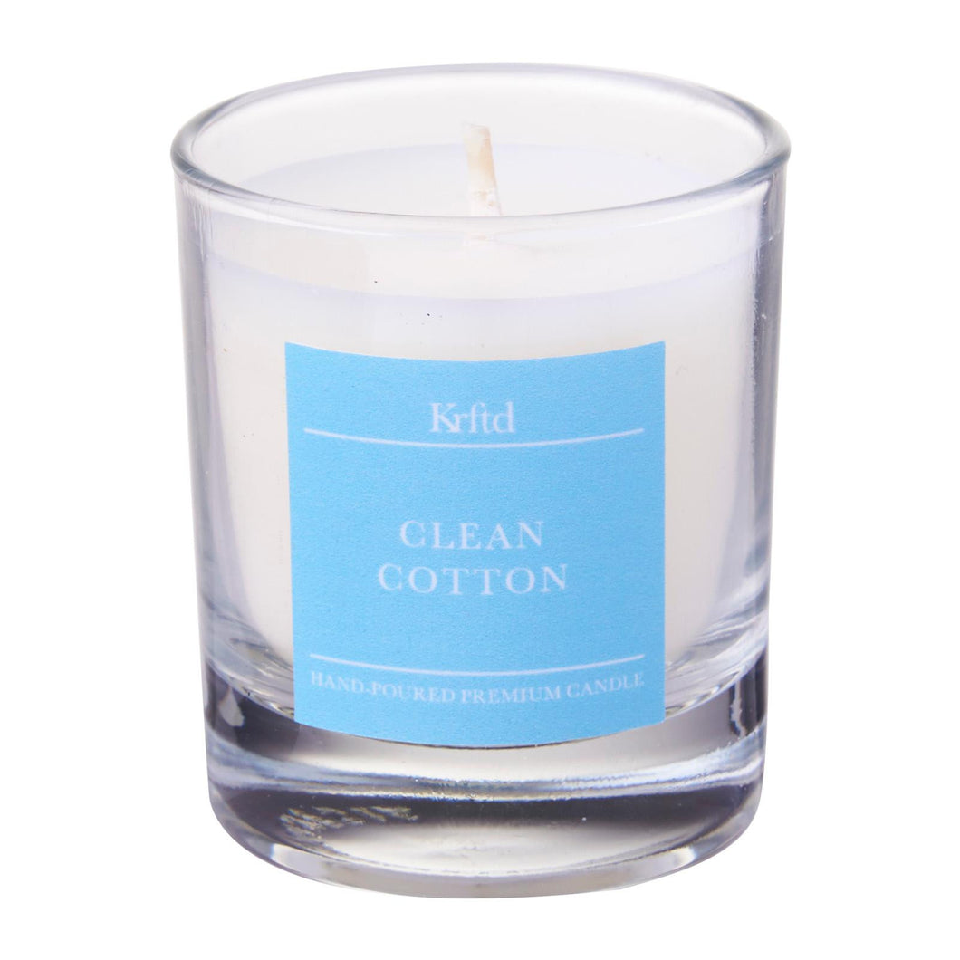 Clean Cotton Votive 50g - Krftd