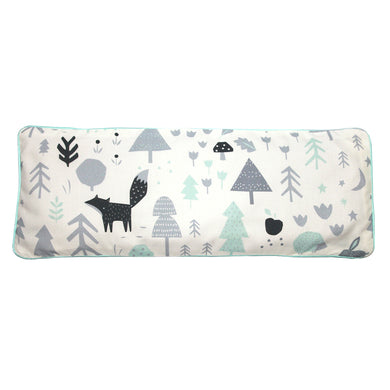 Baby Woodland Snuggy Beansprout Husk Pillow - Icy Mint