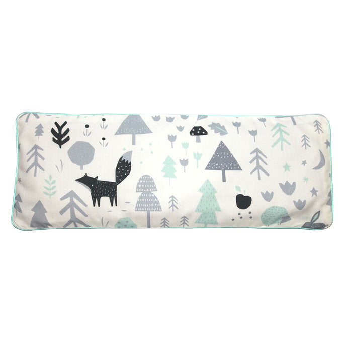 Baby Woodland Snuggy Beansprout Husk Pillow - Icy Mint (Organic Cotton)