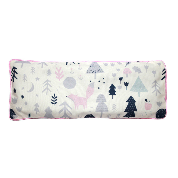 Baby Woodland Snuggy Beansprout Husk Pillow - Pink (Organic Cotton)