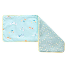 Picnic In The Park Snuggy Beansprout Husk Pillow - Blue