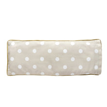 Teddy Faces Snuggy Beansprout Husk Pillow - Brown (Organic Cotton)