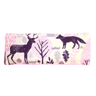 Woodland Animals Snuggy Beansprout Husk Pillow - Pink