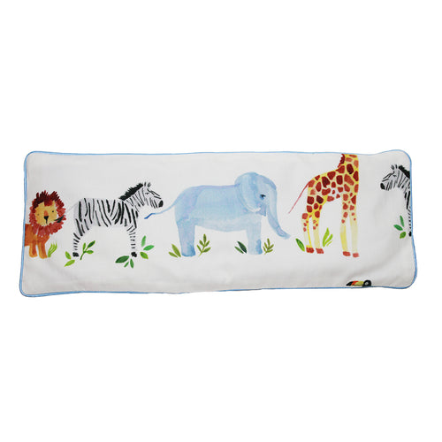 Zoo Snuggy Beansprout Husk Pillow (Organic Cotton)
