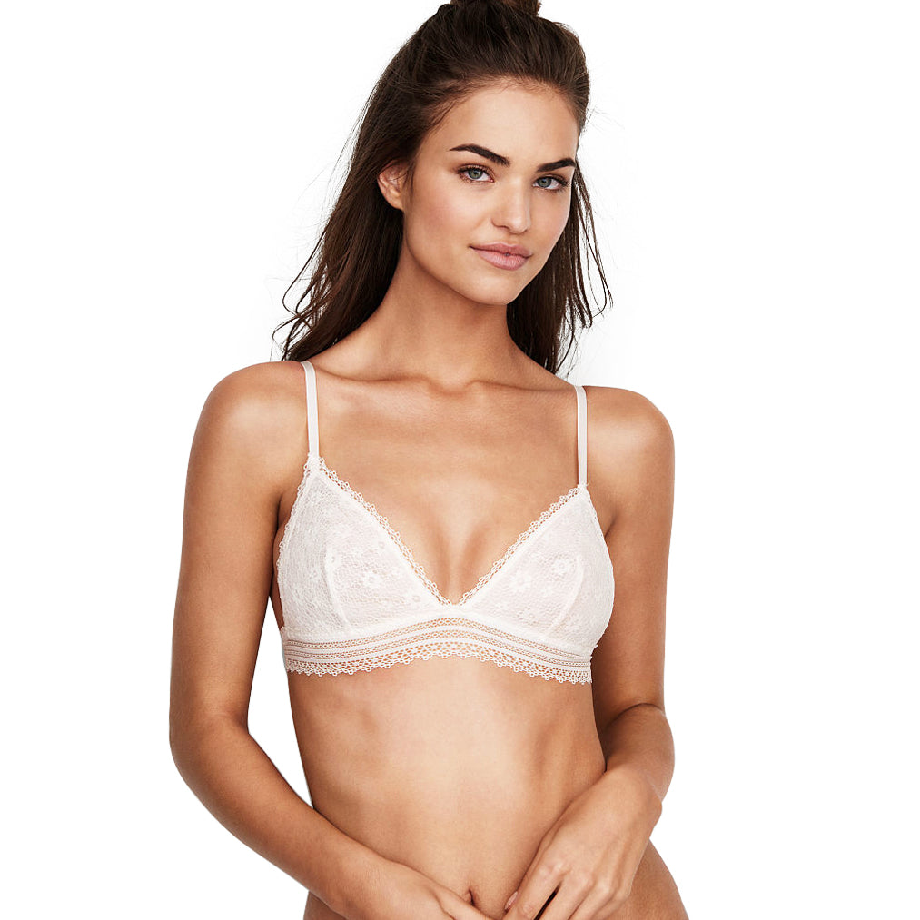 Simply White Bralette (New!)