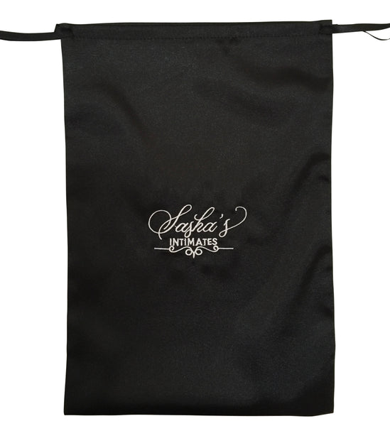 Sasha's Intimates Satin Lingerie Bag