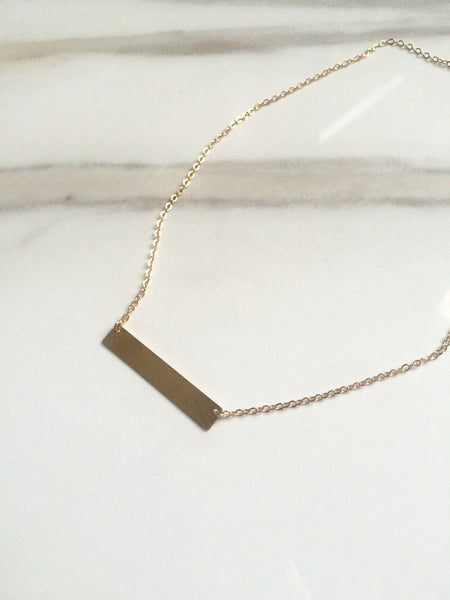 Gold Filled Bar (Large-Tall)