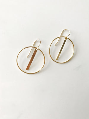 Endless Bar Earrings