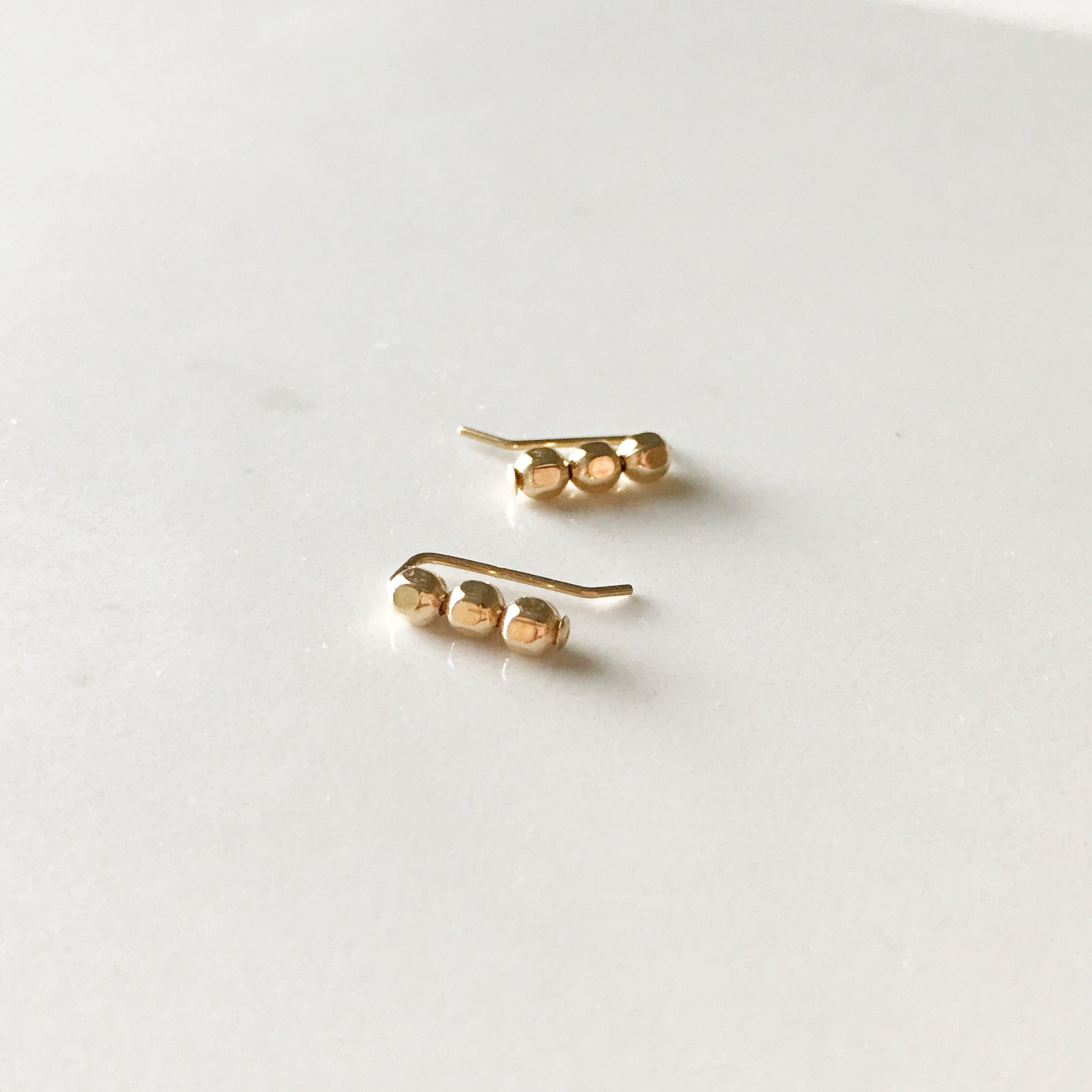 Studded Bar Earcuff Earrings