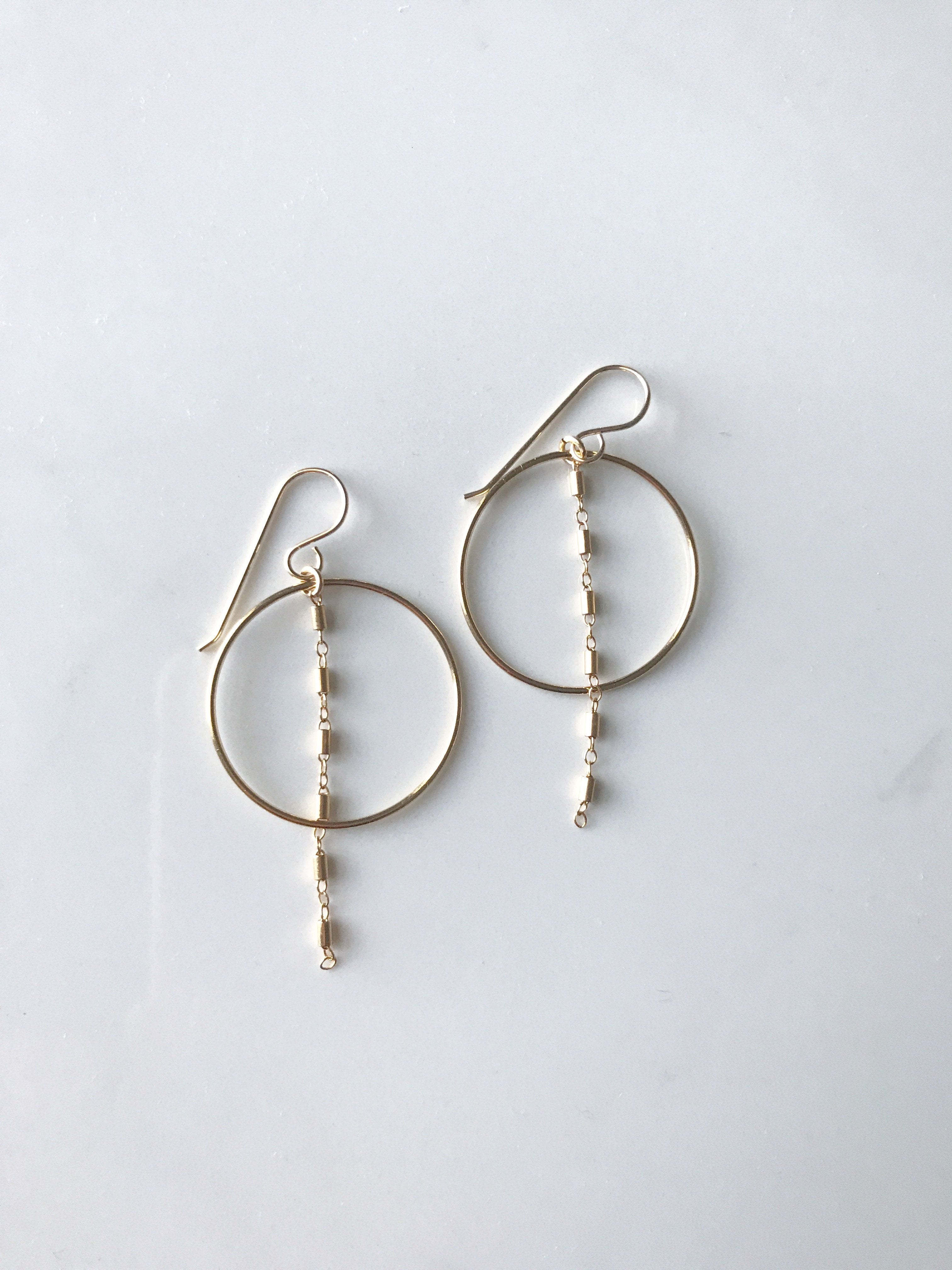 Barlink Gold Filled Earrings