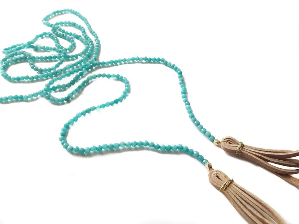 All Wrapped Up Turquoise Necklace