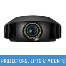 Projectors, Lifts & Mounts
