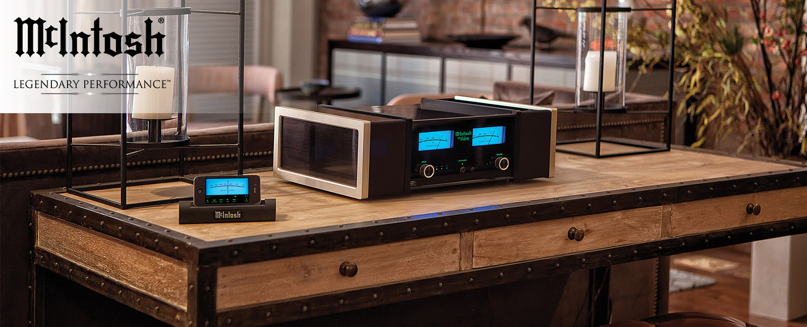McIntosh Audio: Turntables, Receivers,  Amps, Speakers