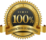 SKY 100% Satisfaction Guarantee Logo