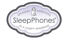 fleece headband with flat speakers earbuds for sleeping