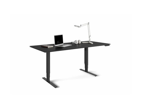 BDI Stance Lift Desk 6652 BK 66x30""