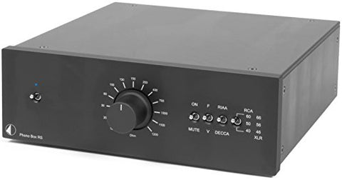 Pro-Ject - Phono Box RS - MM/MC - Phono Preamplifier - Black