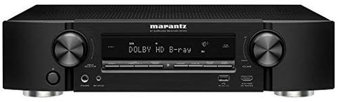 Marantz NR1510 Slim 5.2 Channels 4K Ultra Hd AV Receiver with Heos Built-in and Alexa Voice Control - Black
