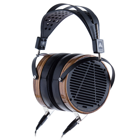 Audeze LCD-3 Studio Headphones w/ Zebra Wood Rings