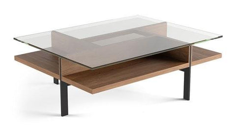 BDI TERRACE 1152 Rectangular Coffee Table Walnut