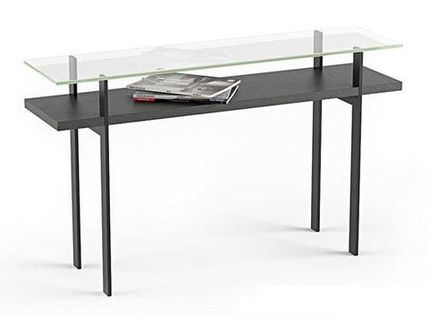 BDI TERRACE 1153 Console Table Charcoal Ash