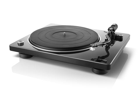 Denon DP-400 HiFi Turntable with Speed Auto Sensor