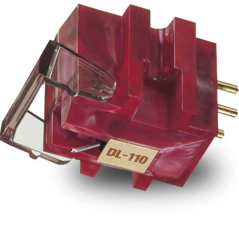 Denon DL-110 High Output Moving Coil Cartridge close-up