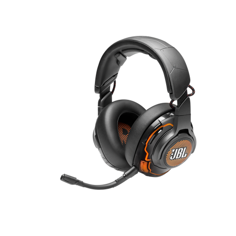 JBL Quantum ONE USB wired over-ear professional gaming headset with head-tracking enhanced JBL QuantumSPHERE 360