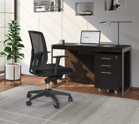 BDI Sequel 20 6103 Compact Desk for Small Office or Home Office