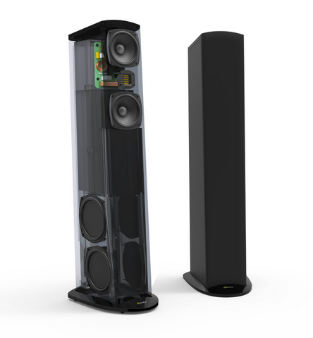 GoldenEar Triton Five Tower Speaker - Each (Gloss Black)
