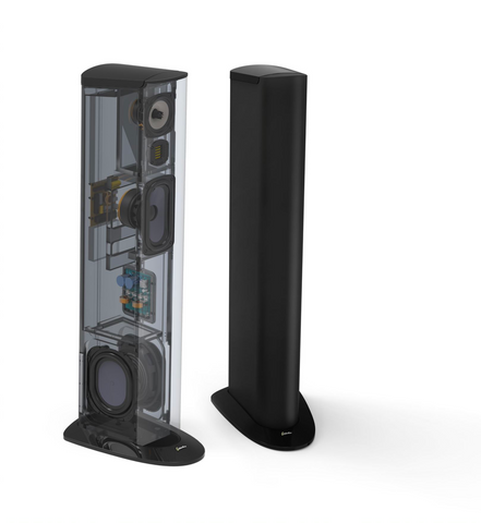 GoldenEar Triton Three+ Tower Speaker - Each (Gloss Black)