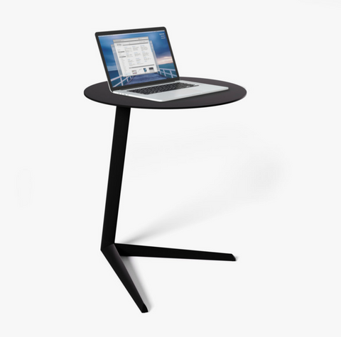 BDI Milo Aluminum 1065 laptop indoor and outdoor sidetable