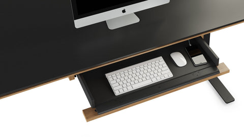 BDI Sequel 20 6159 Optional keyboard/storage drawer for Sequel Lift Standing Desk 6151 & 6152