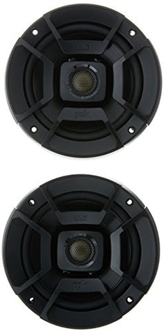 "Polk DB522 DB+ Series 5.25"" Coaxial Speakers with Marine Certification, Black"