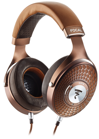 Focal Stellia Closed-back Reference Headphones (Cognac)