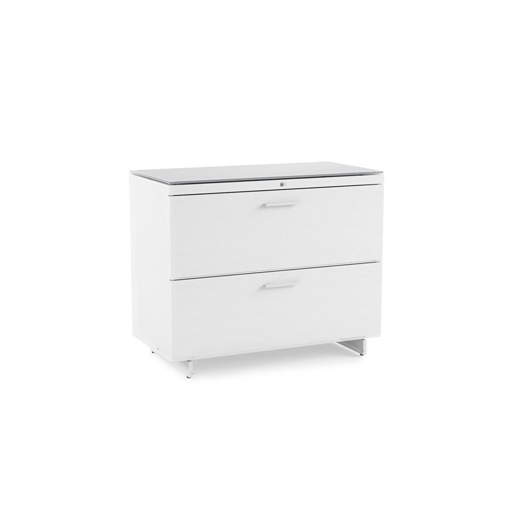 Image of: Bdi Centro 6416 2 Drawer Lateral File Cabinet Sky By Gramophone
