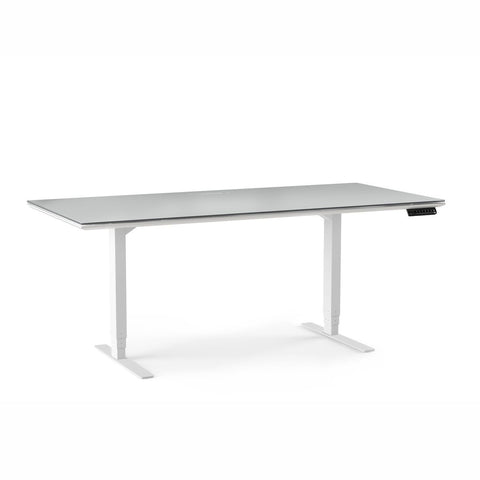 BDI CENTRO 6452 lift desk in low position