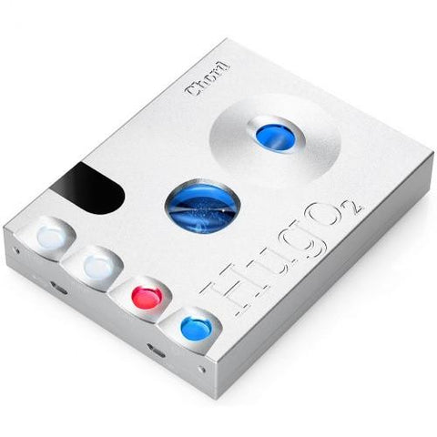 Chord HUGO 2 DAC Headphone Amplifier silver