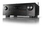 Denon AVR-X3700H 9.2 Channel (105 Watt X 9) 8K Ultra HD AV Receiver with 3D Audio, Voice Control and HEOS Built-in