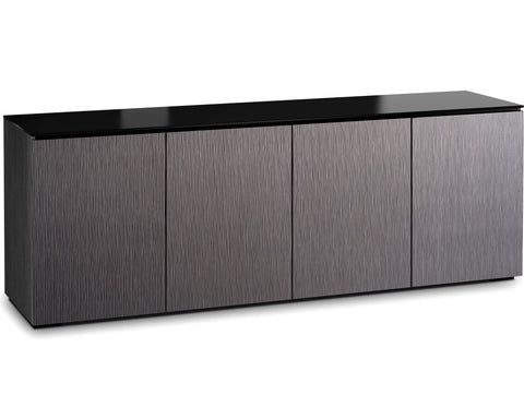 Salamander Chameleon Seattle 347 Quad-Wide AV Cabinet (Gray Oak)
