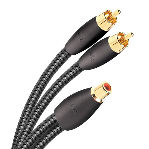 AudioQuest FLX-X RCA Splitter - Female to 2 male - 6""
