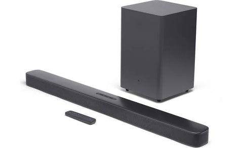 "JBL Bar 2.1 Deep Bass Soundbar with 6.5"" Wireless Subwoofer (2019 Model)"