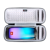 JBL Pulse 4 IPX7 Waterproof Portable Bluetooth Speaker with 360 Color LED and gSport Deluxe Travel Case