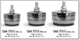 IsoAcoustics Gaia-Titan Cronos Isolation for Speakers- Set of (4)