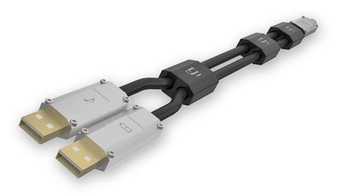 ifi Gemini Dual-headed USB B to A cable (0.7m or 1.5m)