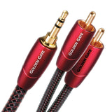 AudioQuest Golden Gate Audio Interconnect Cable 3.5mm to 2 RCA