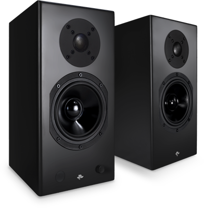 Totem KIN Play Powered Bookshelf Speakers with Phono Stage (Pair)