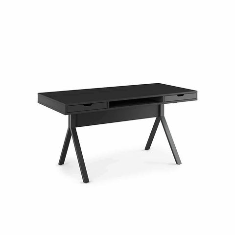 BDI MODICA 6341 Platform Desk Charcoal Stained Ash
