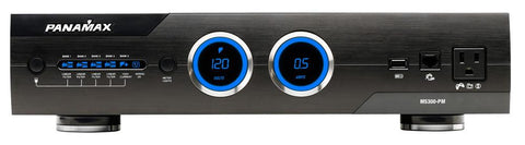 Panamax M5300-PM 11 Outlet Clean Power Level 4 - Black front